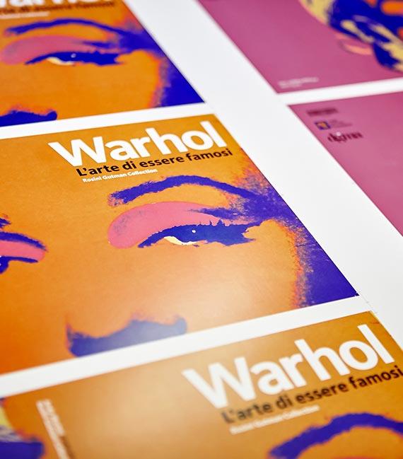 Seristampa - Mostra Warhol