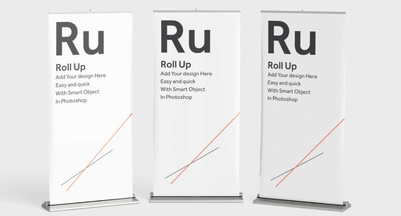 Come creare, montare e sostituire un roll up